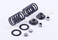 Клапанный механизм комплект (пружины, тарелки, сухари...) на 2 кл. - 186F