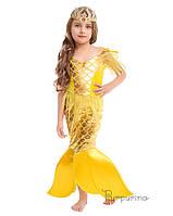 Детский карнавальный костюм Русалка Золотая Рыбка Код 2125 30