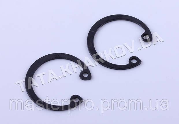 Кольца стопорные пальца поршневого (2 шт.) - 186F, фото 2