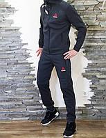 Спортивный костюм мужской серый зимний Reebok UFC, фото 1