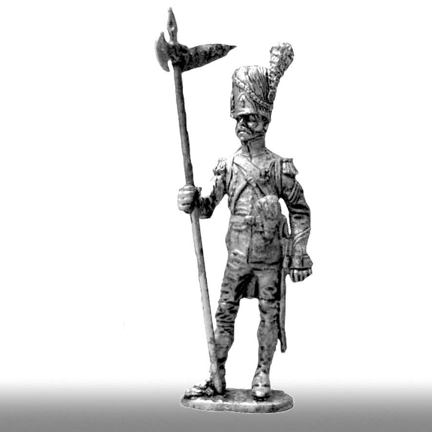 Второй орлоносец, линейная пехота