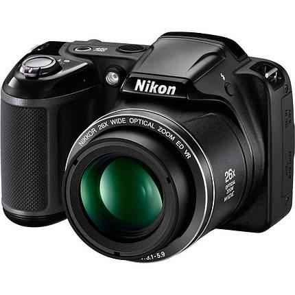 Фотоаппарат Nikon Coolpix L320 Black, фото 2