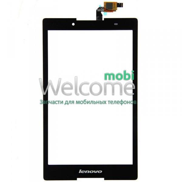 Сенсор Lenovo A8-50F Tab 2 black (оригинал) тач скрин для планшета