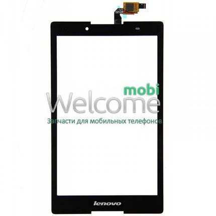 Сенсор Lenovo A8-50F Tab 2 black (оригинал) тач скрин для планшета, фото 2