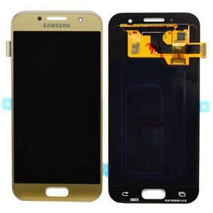 Модуль Samsung SM-A320F Galaxy A3 (2017) gold (оригинал) дисплей экран, сенсор тач скрин для телефона смартфона, фото 2