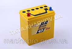 Аккумулятор 40 Ah/12v (197*127*203) - 178F/186F