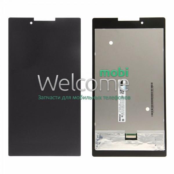 Модуль Lenovo IdeaTab  A7-30HC black (оригинал) дисплей экран, сенсор тач скрин для планшета