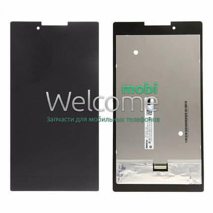 Модуль Lenovo IdeaTab  A7-30HC black (оригинал) дисплей экран, сенсор тач скрин для планшета, фото 2