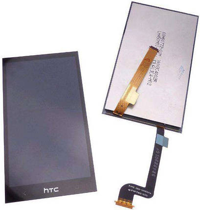 Модуль HTC Desire 601 315n black (оригинал) дисплей экран, сенсор тач скрин для телефона смартфона, фото 2