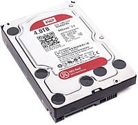 "Жесткий диск для компьютера 4 Тб Western Digital Red, SATA 3, 64Mb, 5400 rpm (WD40EFRX), накопитель винчестер HDD 3.5"" 4 Tb для ПК"