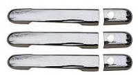 Накладки на ручки Mercedes Vito W638 (3 шт.)