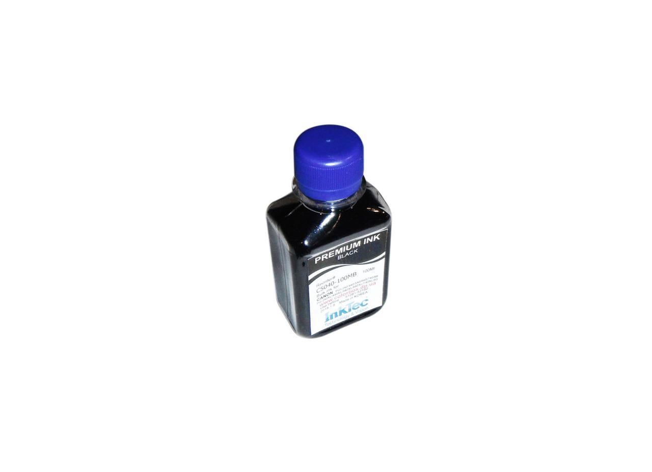 Чернила InkTec Canon C5040-100MB, Black Pigmented, PG-240/440/540/640/740, PG-88, 100 мл, краска для принтера