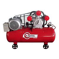 Компресор 300 л, 11 кВт, 380 В, 8 атм, 1600 л/хв. 3 циліндра INTERTOOL PT-0050