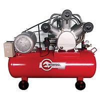 Компресор 300 л, 15 кВт, 380 В, 8 атм, 2000 л/хв. 3 циліндра INTERTOOL PT-0052