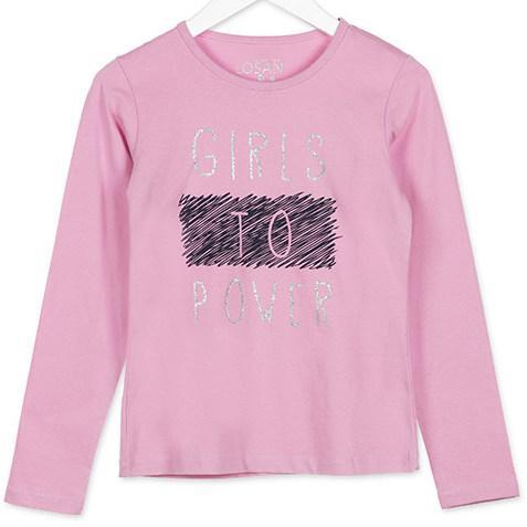 Джемпер для девочки Rosa Chicle Losan 824-1202280 Розовый