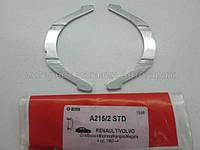 Опорный вкладыш коленчатого вала на Рено Кенго 01-> 1.9dCi — Glyco (Германия) - A215/2 STD