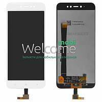 Модуль Xiaomi Redmi Note 5A,Redmi Note 5A Prime,Redmi Y1 white дисплей экран, сенсор тач скрин Сяоми Ксиоми Редми Нот 5А
