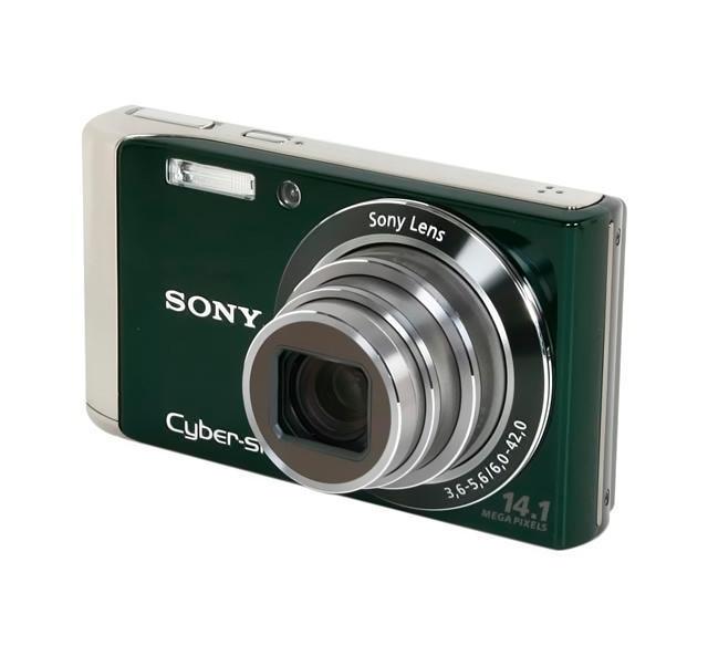 Фотоаппарат Sony Cyber-Shot DSC-W370, Green