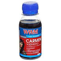 Чернила WWM Canon Universal CARMEN, PG-30/37/40/50/510/512, PGI-5/425/520, Black, 100 г (CU/B-2), краска для принтера