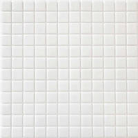 Скляна мозаїка біла Glass Mosaik HVZ-1001, фото 1