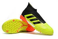 Футбольные сороконожки adidas Predator Tango 18+ TF Solar Yellow/Core Black/Solar Red, фото 1
