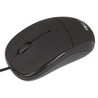 Мышь Gemix GM120 Black, Optical, USB, 800 dpi, мышка