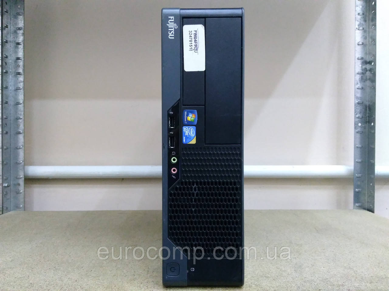 Мини компьютер для дома и офиса Fujitsu E7936 (C2D E7400/4GB/250GB)