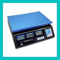 Электронные торговые весы Opera Plus 40 кг