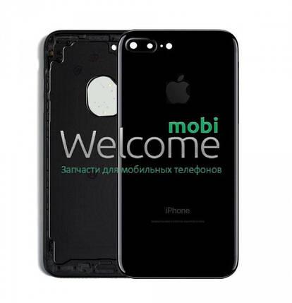 Задняя крышка iPhone 7 Plus  jet black, сменная панель айфон, фото 2