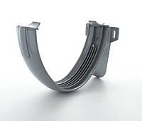 Кронштейн желоба для водосточной системы HUNTER STORM 200 мм EN.1462 серый