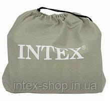 Надувная кровать Intex 67732 (99х191х48 см) встроенный комперессор., фото 3