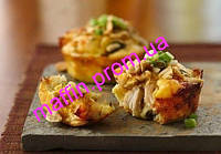 Маффины с овощами и курицей