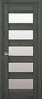 Двери межкомнатные Новый Стиль, Лайт, модель Бронкс, со стеклом сатин