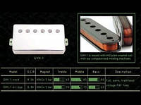 Giovanni Звукосниматель GIOVANNI GVH-2NIN CUSTOM HUMBUCKER NECK PICKUP NI