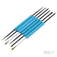 Набор инструментов для пайки ZD-151 6шт  Zhongdi Industry
