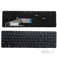 Клавиатура для ноутбука HP (ProBook: 450 G3, 455 G3, 470 G3) rus, black