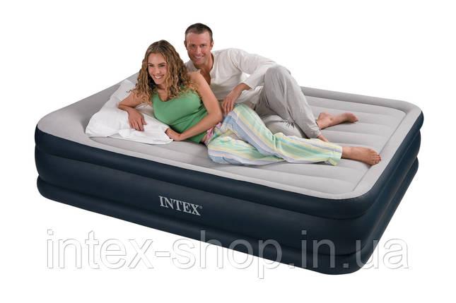 Надувная кровать Intex 67736 (152 х 203 х 43 см) без насоса., фото 2