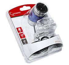 Веб камера Gembird CAM100U-B, встроенный микрофон, фото 3