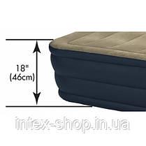 Надувная кровать Intex 67710, 203 cм х 152 см., фото 3