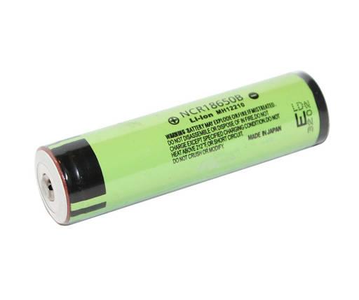 Аккумулятор 18650, 3400 mAh, Panasonic, NCR18650B Protected, 3400mAh, 6.8A, 4.2/3.6/2.5V, перезаряжаемая батарейка, фото 2