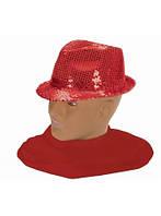 Шляпа диско с пайеткой (4 цв.) (Украина) купить оптом и в розницу в Одессе на 7км