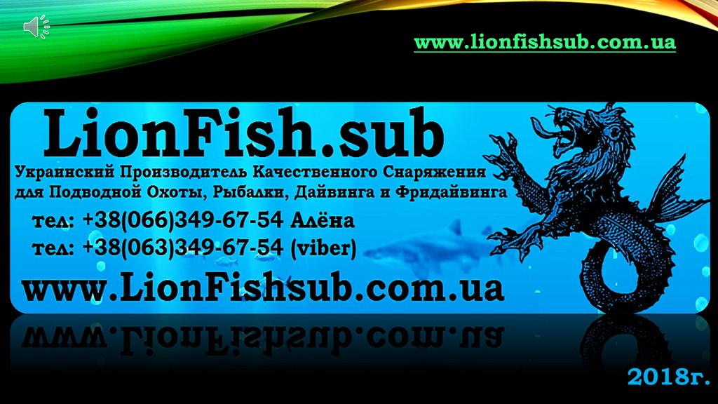 LionFish.sub - Обзор нашего ассортимента, небольшой Видео-Ролик и Фотографии