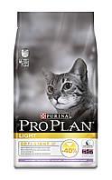 Pro Plan Adult Light облегченный корм для кошек