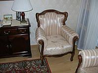 Мягкая мебель из дерева Элит 3, кресло для отдыха