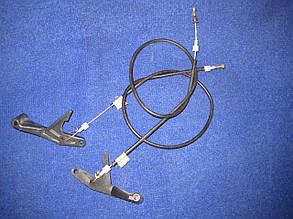 Трос капота жесткий с ручкой Славута ЗАЗ 1103 1105