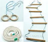 Веревочная лестница - детский тренажер , фото 3