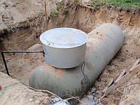 Резервуар подземный СУГ б.у. объем 4,85 куб VPS