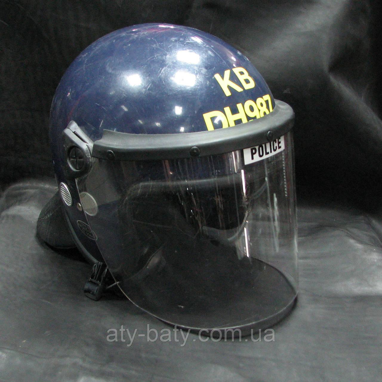 Шлем полицейский, Англия.