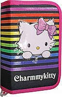 """Пенал-книжка Чарммикитти (модель 530752), ТМ """"1 вересня"""""""