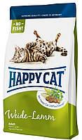 Корм Happy Cat Weide Lamm с ягненком для взрослых кошек
